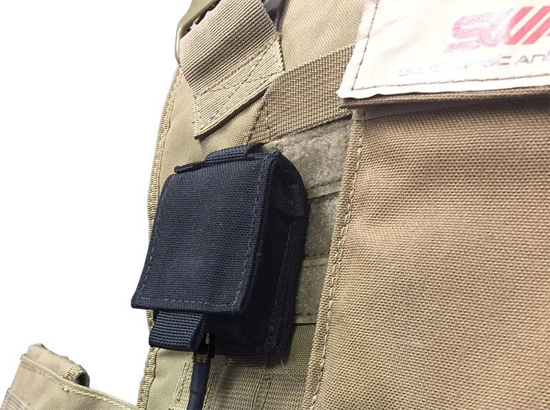 MOLLE pouch for S Band Body Worn Antennas