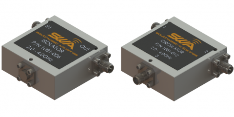 Southwest Antennas RF circulators and isolators for UHF, L, S, and C Band applications