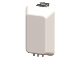 3X3 MIMO 120° Sector Panel Antenna, Slant L/R and Vertically Polarized, 4.4 - 5.0 GHz, 12 dBi Gain