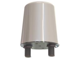 Omni MIMO Antenna, Dual Input 45° Slant Polarized, 4.4 - 5.0 GHz, 2.6 dBi
