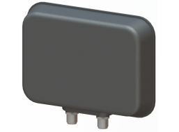 2X2 MIMO Panel Antenna, Slant Polarization, 1.7 - 2.5 GHz, 9 dBi Gain