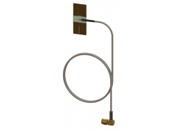Omni Concealment Antenna, Dual Band 2.2 - 2.5 GHz / 4.4 - 5.9 GHz, 2.2 dBi with right angle SMA(m) RF connector