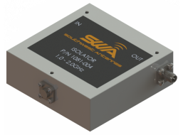 Coax Isolator, 1.0 - 2.0 GHz, 18 dB Isolation, 250 Watts Peak Power