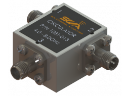 Coax Circulator, 4.0 - 8.0 GHz, 20 dB Isolation, 200 Watts Peak Power