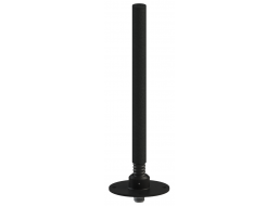 mni Antenna, 2 Section Collinear 2.4 - 2.7 GHz, 4 dBi, Sealed Spring and Flange Mount Base