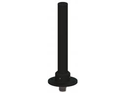 Omni Bifilar Antenna, Circularly Polarized, 6.25 - 6.75 GHz, 5.1 dBic Gain, Flange Mount