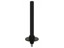 Omni Antenna, Full Wave Dipole, 1.625 - 2.11 GHz, 3.5 dBi Gain, Threaded Flange Mount