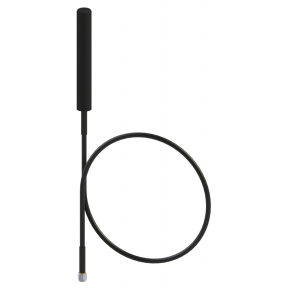 """Omni Antenna, Full Wave Dipole, 4.4 - 5.9 GHz, 3.5 dBi Gain, Integrated 22"""" RG-402 Pigtail with SMA(m)"""