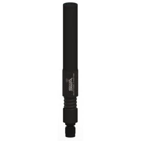 Wideband Omni Antenna, Half Wave Dipole, 1.35 - 2.5 GHz, 2.4 dBi, Weatherproof Sealed Spring Base