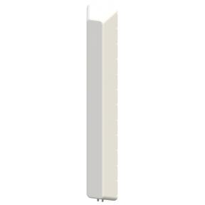 2X2 MIMO 120° Sector Panel Antenna, Slant L/R Polarized, Dual Band 1.35 - 1.40 GHz / 4.4 - 5.0 GHz, 12.0 dBi Gain