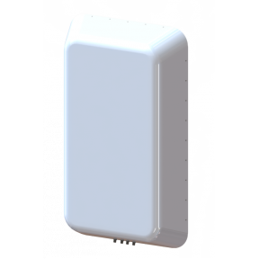 4X4 MIMO 120° Sector Panel Antenna, Slant L/R Polarized, 1.35 - 1.45 GHz, 12.1 dBi Gain