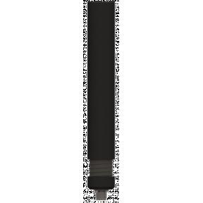 Omni Bifilar Antenna, RHCP, 1.05 - 1.35 GHz, 3.8 dBic, Sealed Spring Base