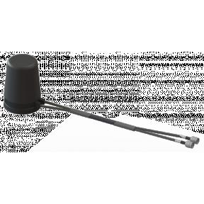 2X2 MIMO Omni Antenna, 4.4 - 5.0 GHz, 2.9 dBi, 2-Input Dual 45° Slant Polarized