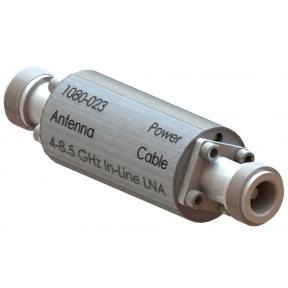 High Performance LNA, 4.0 - 8.5 GHz, 14.33 - 17.62 dB Gain