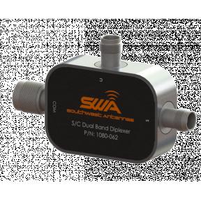 Dual Band Diplexer, 2.2 - 2.5 GHz & 4.4 - 5.0 GHz