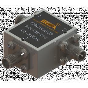 Coax Circulator, 4.0 - 8.0 GHz, 20 dB Isolation, 200 Watts Peak Power