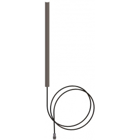 Omni Antenna, Full Wave Dipole, 1.35 - 1.39 GHz, 4 dBi, 2 Meter Pigtail