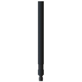 Omni Antenna, 4 Section Collinear, 5.25 - 5.85, 6 dBi, Spring Base, RP-TNC(m) RF Connector