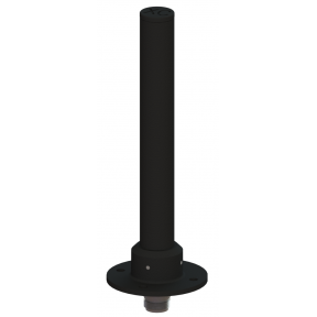 Omni Bifilar Antenna, Circularly Polarized, 6.25 - 6.75 GHz, 5.1 dBic Gain, Flange Mount