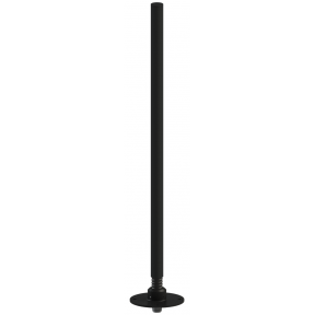 Omni Antenna, 4 Section Collinear, 1.35 - 1.39 GHz, 6 dBi, Flange Mount Base with Weather Resistant Sealed Spring
