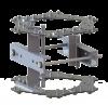 Sector antenna pipe mounting kit